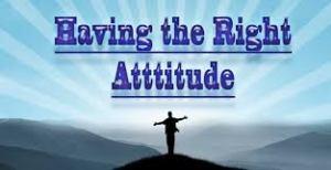 Spiritual Blog - Attitude