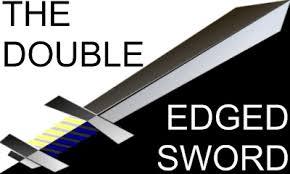 Spiritual Blog - Double Edged Sword
