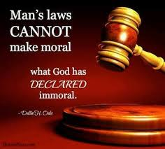 Spiritual Blog - God's Laws