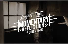 Spiritual Blog - Light Afflictions