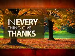 Spiritual Blog - Thanksgiving