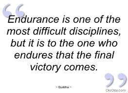 spiritual blog - endurance