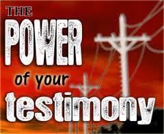 Spiritual Blog - Testimony