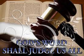 Spiritual Blog - God Judge