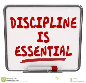 Spiritual Blog - Discipline
