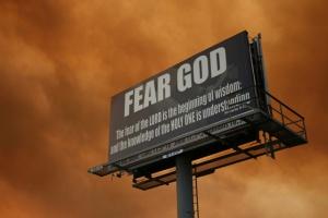 Spiritual Blog - Fearing God