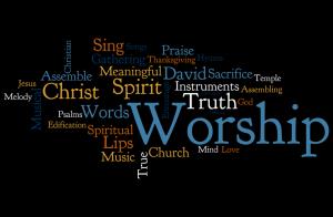 spiritual blog - Worship