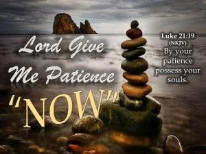Spiritual Blog - Patience