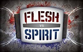Spiritual Blog - Flesh - Spirit