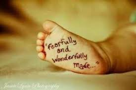 Spiritual Blog - Fearfully and Wondrfully Made