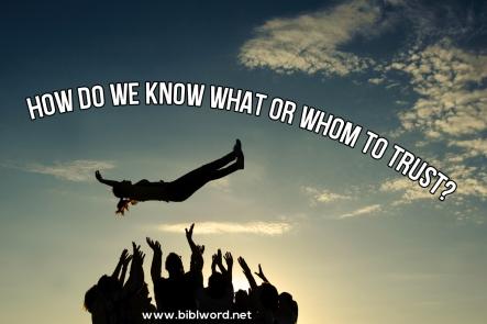 Spiritual Blog - Trust