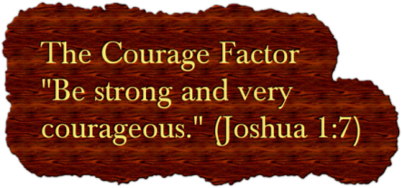Spiritual Blog - Courageous