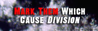 Spiritual Blog - Divisions