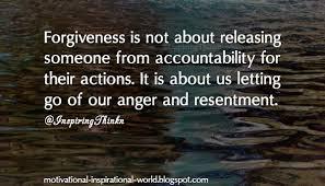 Spiritual Blog - Forgiveness
