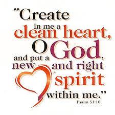 Spiritual Blog - Clean Heart