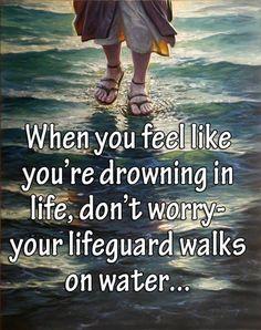 Spiritual Blog - Walk on Water