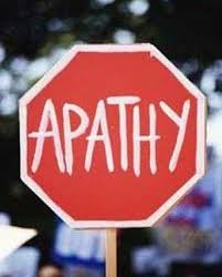 Spiritual Blog - Apathy 1