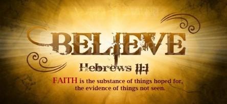 Spiritual Blog - Faith 1