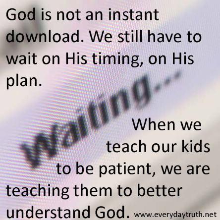 Spiritual Blog - Waiting