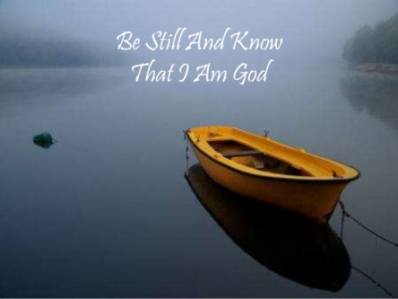 Spiritual Blog - Stillness