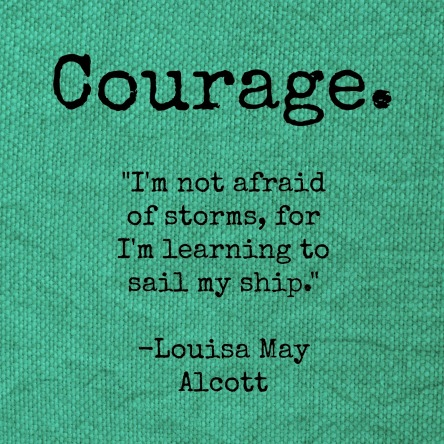 Spiritual Blog - Courage