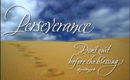 Spiritual Blog - Perseverance