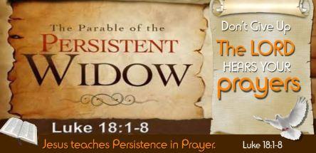 Spiritual Blog - Persistence