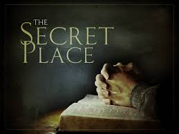 Spiritual Blog - Secret Place