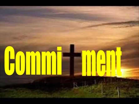 Spiritual Blog - Commitment