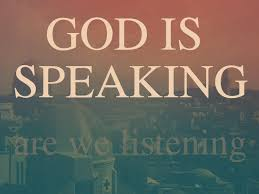 Spiritual Blog - God Speaking