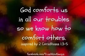 Spiritual Blog - Comfort
