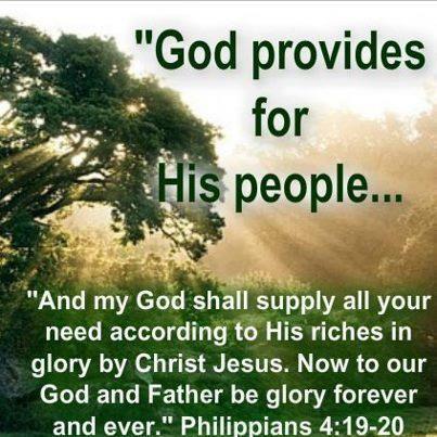 Spiritual Blog - Provision
