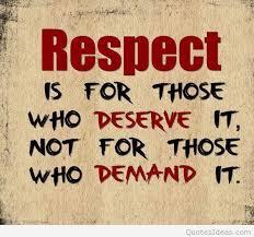 Spiritual Blog - Respect 1
