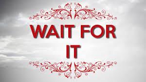 Spiritual Blog - Wait