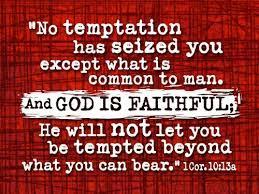 Spiritual Blog - Temptation