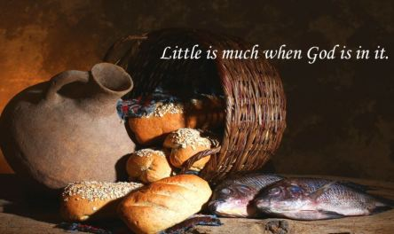 Spiritual Blog - Little is Much