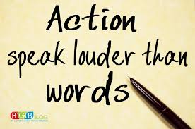 Spiritual Blog - Actions