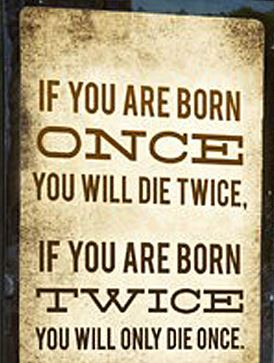 Spiritual Blog - Born Twice