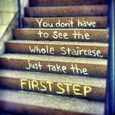 Spiritual Blog - First Step