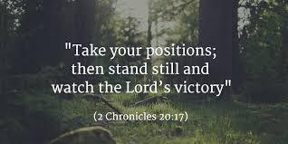 Spiritual Blog - Stand Still