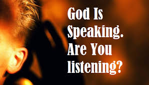 Spiritual Blog - God Speaks