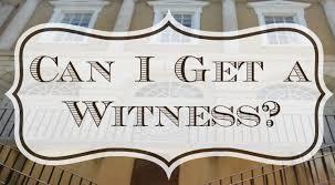 Spiritual Blog - Witness