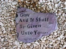 Spiritual Blog - Give
