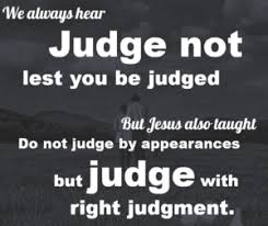Spiritual Blog - Judge