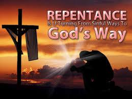 Spiritual Blog - Repent