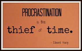 Spiritual Blog - Procrastinatin