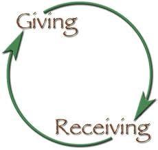 Spiritual Blog - Giving and Receiving