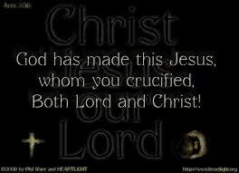 Spiritual Blog - Lord and Christ