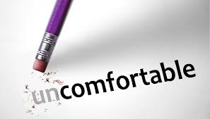 Spiritual Blog - Uncomfortable