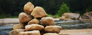 spiritual blog - memorial stones
